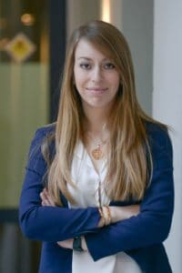 Claudia Couto, avocate à Lausanne