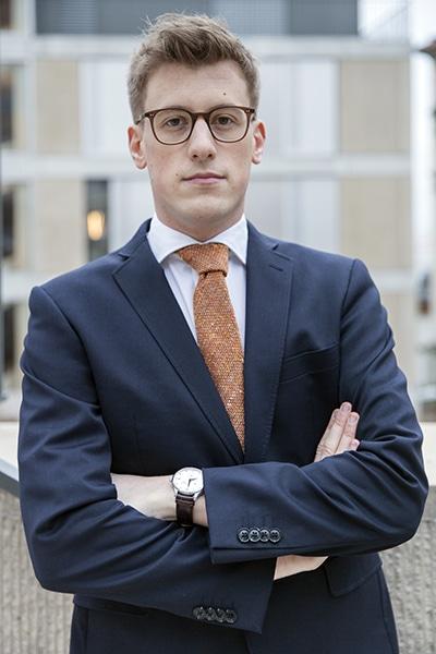 Sylvain Tscheulin, avocat stagiaire chez Leximmo